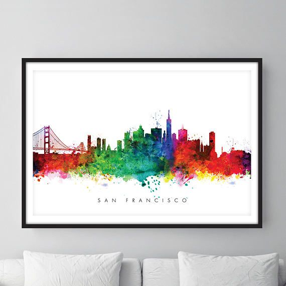 Check out this item in my Etsy shop https://www.etsy.com/uk/listing/512548714/san-francisco-skyline-san-francisco