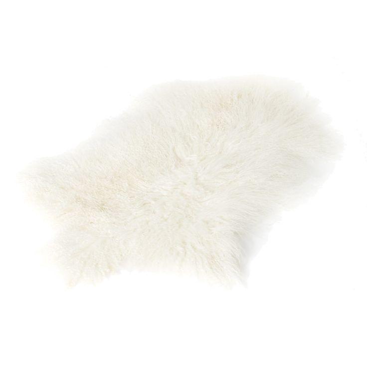 Longhair saueskinn 70x110, hvit – The Organic Sheep – Kjøp møbler online på Room21.no