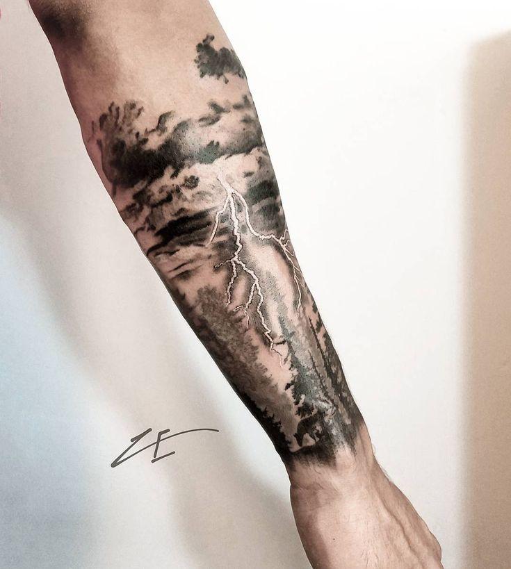 Storm    #frappedesign  Yorumu Silfrappeink#ink #inked #tattoo #kadıköy #istan… – Tattoo Ideen
