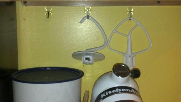 Kitchenaid Mixer Attachment Storage Kitchen Aid Mixer
