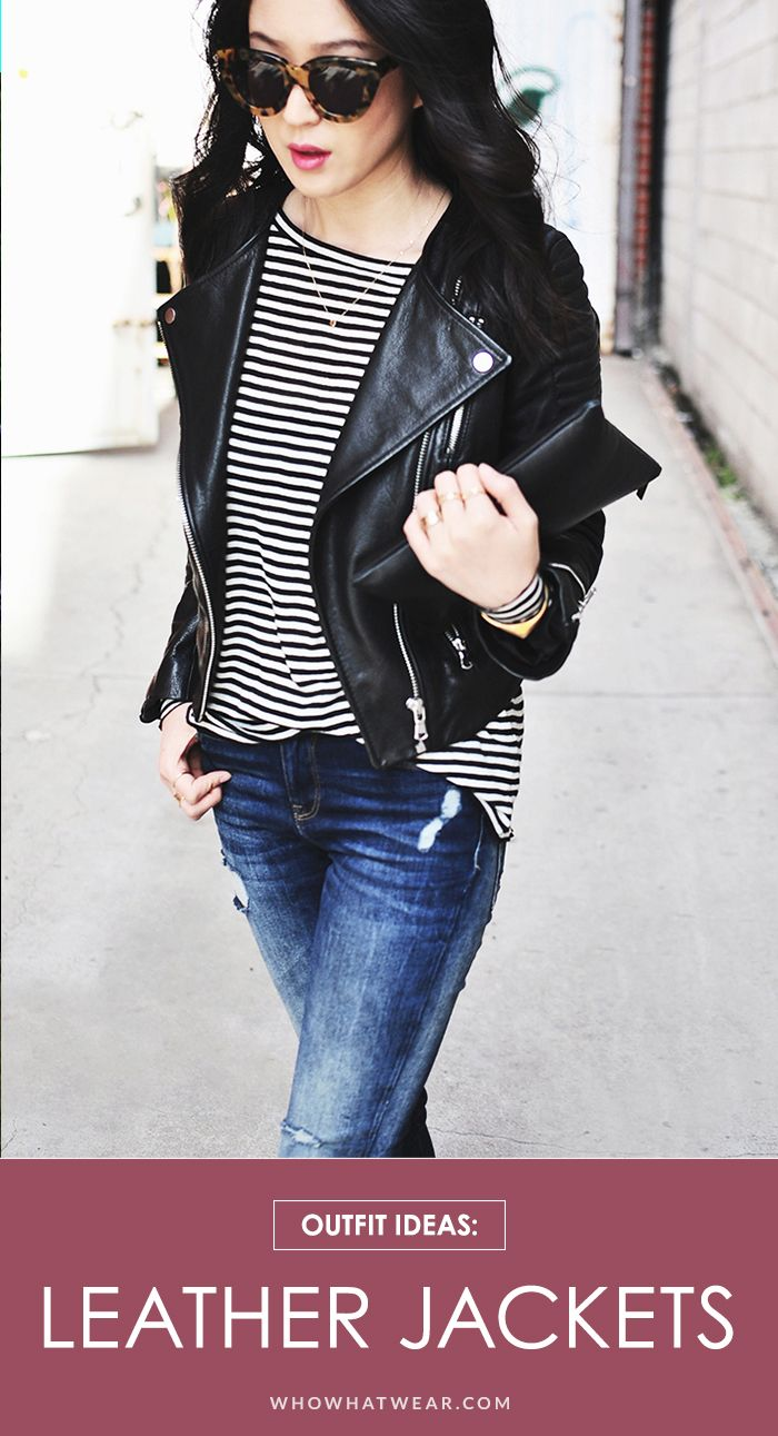 17 reasons why a leather jacket is a must-have this fall // #OutfitIdeas