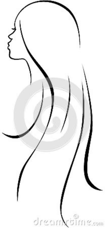 Silhouette de femme trouvée sur dreamstime.com