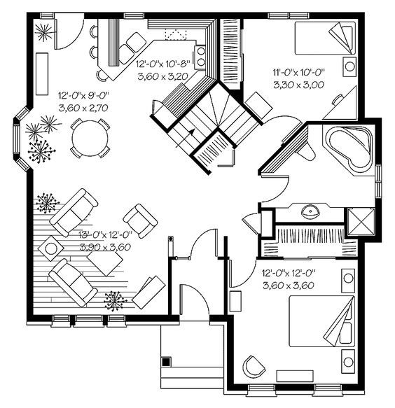Small Flat Plan best 25+ tiny houses floor plans ideas on pinterest | tiny home