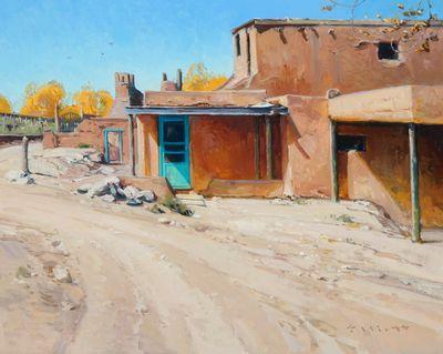 "Josh Elliott, ""Colors of New Mexico"",  Oil on Panel, 16"" x 20"""
