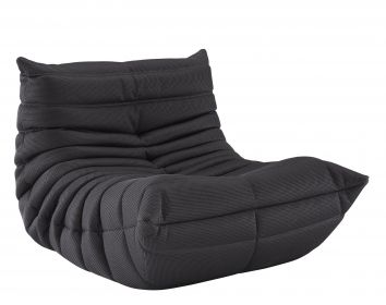 TOGOMichel Ducaroy.  Kind of like the big bean bag idea but classier.  Might be expensive though.