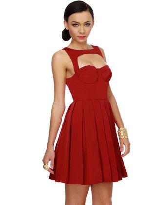 : Birthday Dresses, Women S Fashion, Red Dresses, Style, Color, Birthday Stuff