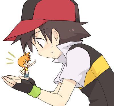 pokemon, ash / satoshi, misty / kasumi