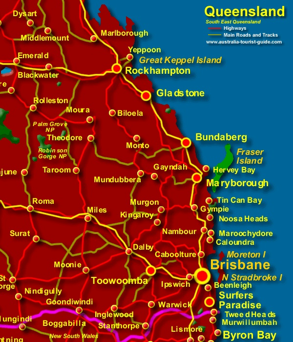 clipart map of queensland - photo #42
