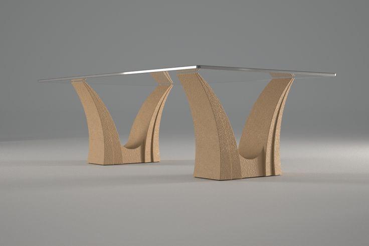Articolo 3EA-7     Tavolino da salotto Apollo - Finitura: tortora.Misure: cm 110 x 65 - Altezza cm 37  - Peso: Kg.45 - Vetro: rettangolare -  temperato - extrawhite - filo lucido - spessore 1 cm