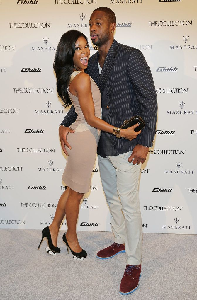 Is There a Couple That Has More Fun Together Than Gabrielle Union and Dwyane Wade? | Cute Celebrity Couples | Black love, Gabrielle union, Love rocks