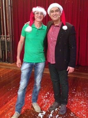Zeca Camargo e Marcos Caruso.