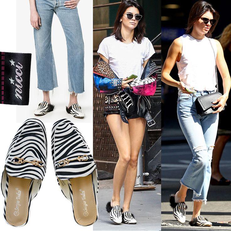 Trend alert! #Zebra sliders now at #Nicci stores & online!