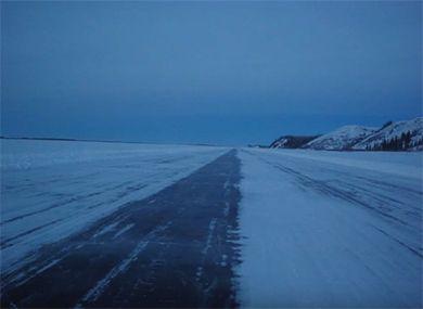 Tuktoyaktuk Winter Road