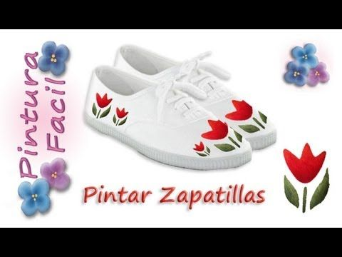 paint sneakers pintar zapatillas pintura facil para ti youtube