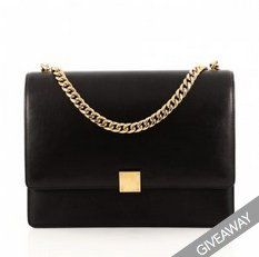 Win a $1,200.00 Céline Black Leather Flap Bag from Vestiare Collective. Enter by finding the popup on the site and submitting your contact info.