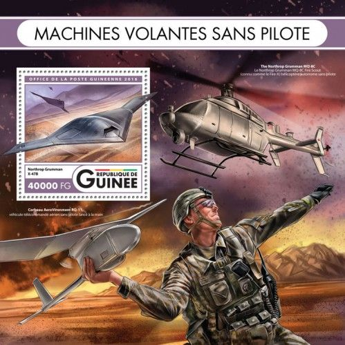 GU16423b Unmanned flying machines (Northrop Grumman X-47B)