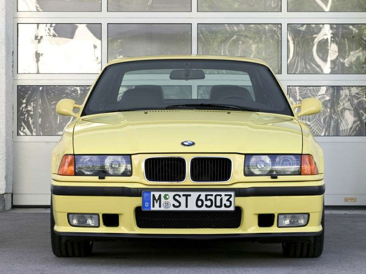 bmw m3 coupe e36 1992 1998 c cars front view. Black Bedroom Furniture Sets. Home Design Ideas