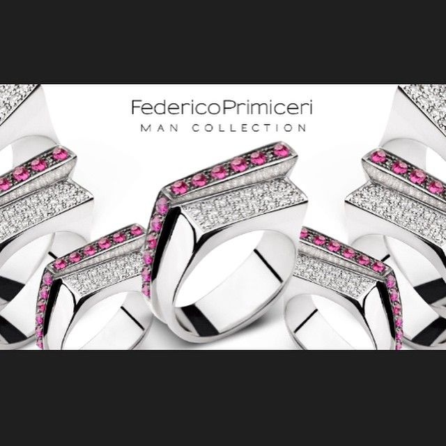 The obsession of the day  Federico Primiceri @federicoprimiceri fine jewellery Ring for Man with diamonds and rubies #ManCollection exclusive at LUISAVIAROMA @luisaviaroma #LVR #federicoprimiceri #florence #gentlemen #jewellery #jewels #ring #diamonds #rubies #luisaviaroma #fashion #italy #madeinitaly #lux #handmade #style #styleformen #obsession