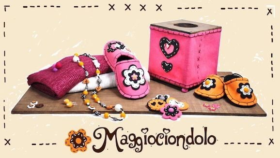 Le novità Maggiociondolo ad Abilmente: kit borse, feltro e vera pelle per creare!