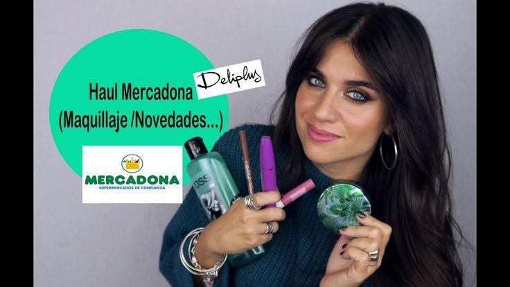 HAUL MERCADONA (Deliplus) NOVEDADES, FAVORITOS y MAQUILLAJE / Noviembre ...