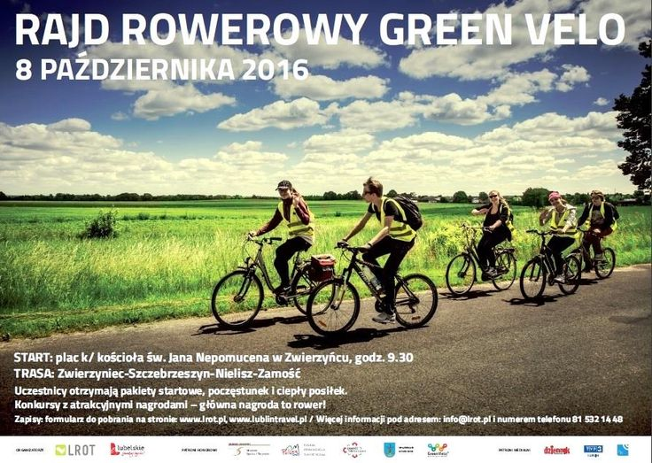 RAJD ROWEROWY GREEN VELO ! https://www.facebook.com/Roztocze24/photos/a.260448404081650.61152.260443574082133/1011242369002246/?type=3&theater