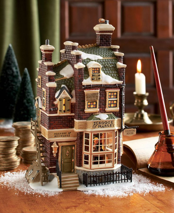 "The Charles Dickens' classic brings the true meaning of Christmas. For more information on Dickens' ""A Christmas Carol"" Village visit http://www.department56.com or shop 24/7 http://shop.department56.com"