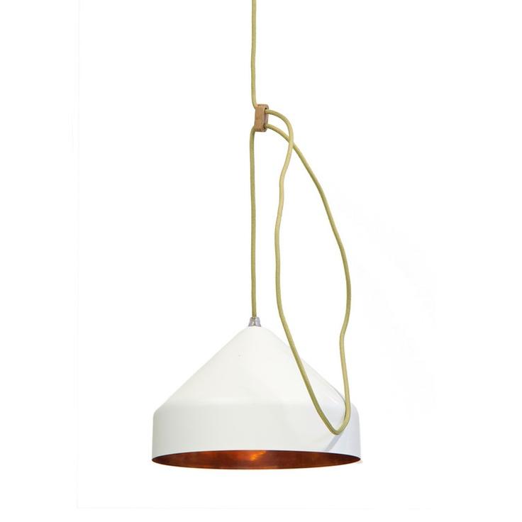 Lloop Lamp Copper White