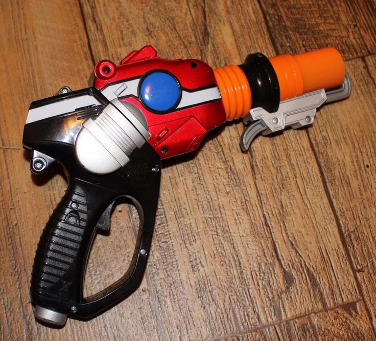 Mighty Morphin Power Rangers RPM Nitro Blaster Toy Sword Bandai 2008 tested Cosp #Bandai