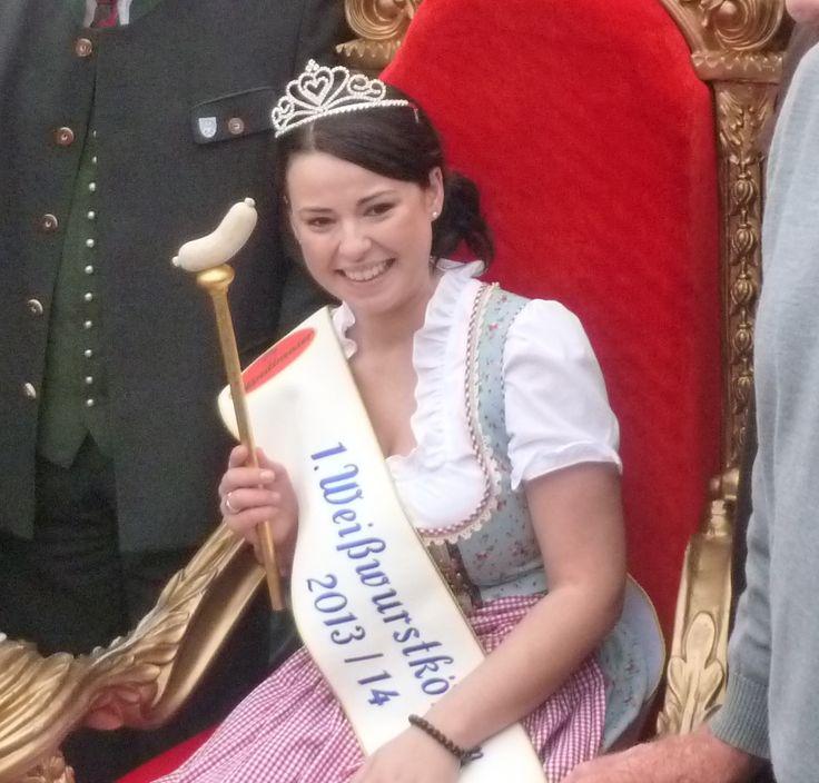 Bayerische Weißwurstkönigin Nadja I.