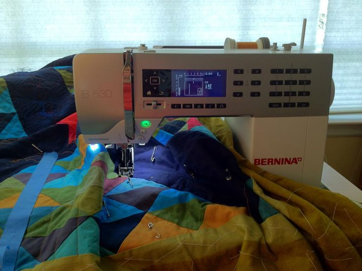 My Bernina 530 | Kimberly Koloski Design