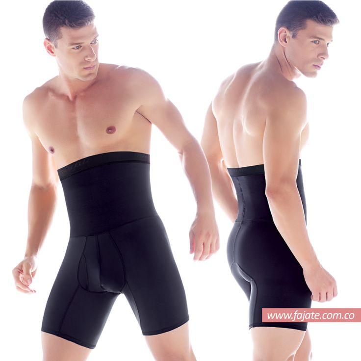 Boxer elaborado con materiales suaves y elásticos con control de abdomen, da un soporte firme y seguro.   Catálogo completo en www.fajate.com.co