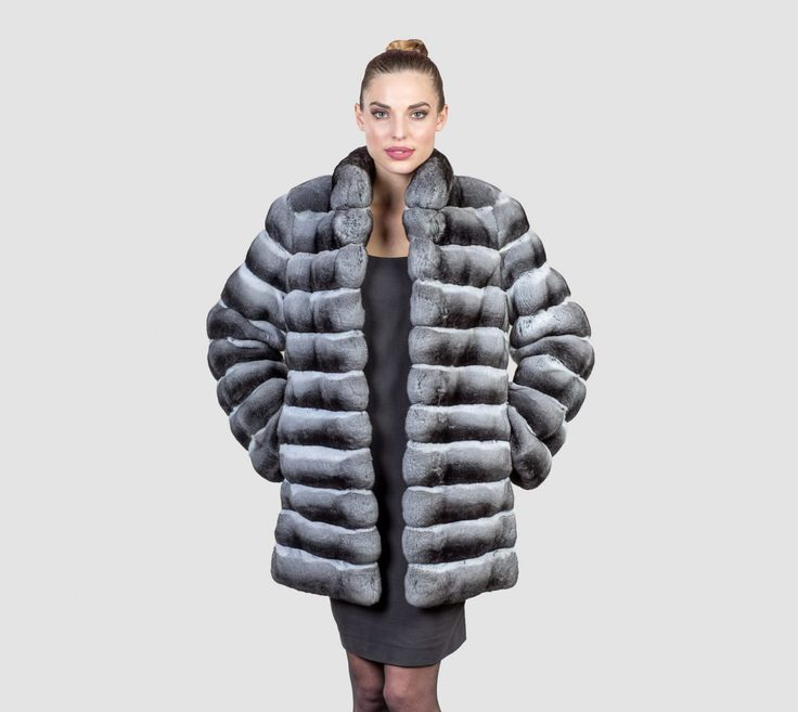 #chinchilla #real #fur #coat #jacket #style #fashion #classy #clothing #top #best