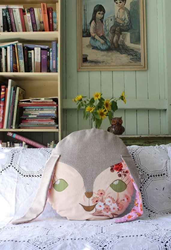 obelia design bunny cushion