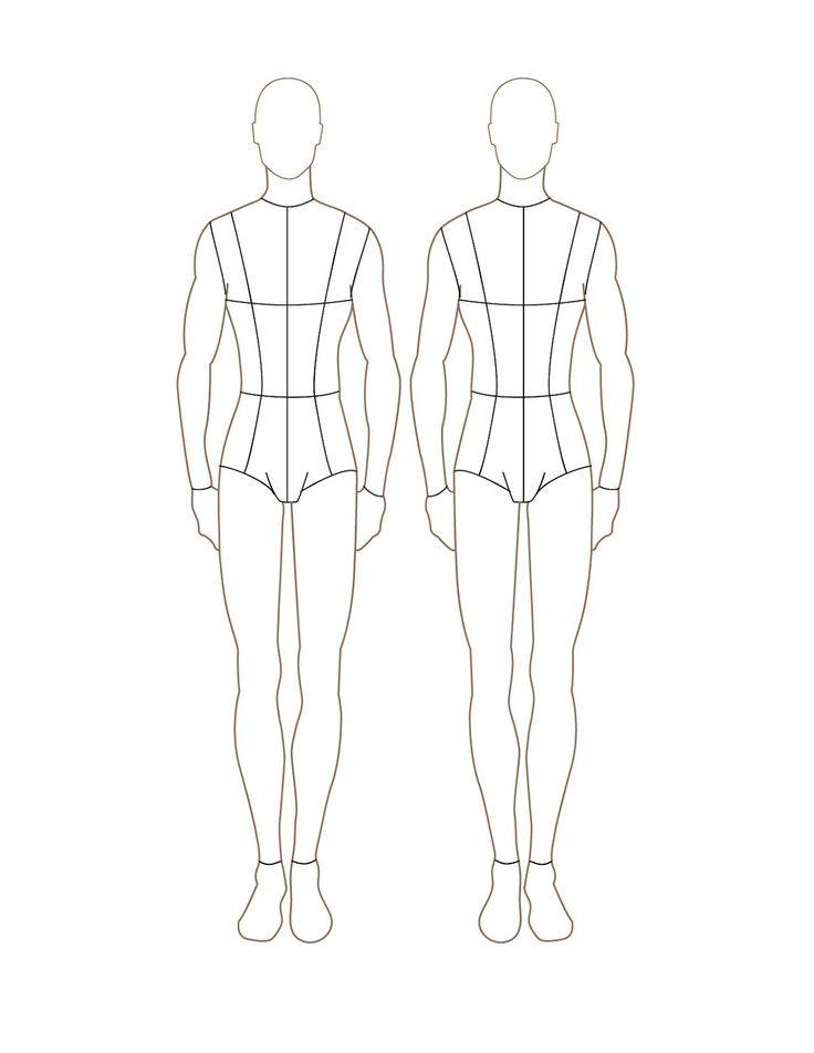 Best 25+ Fashion illustration template ideas on Pinterest - blank fashion design templates