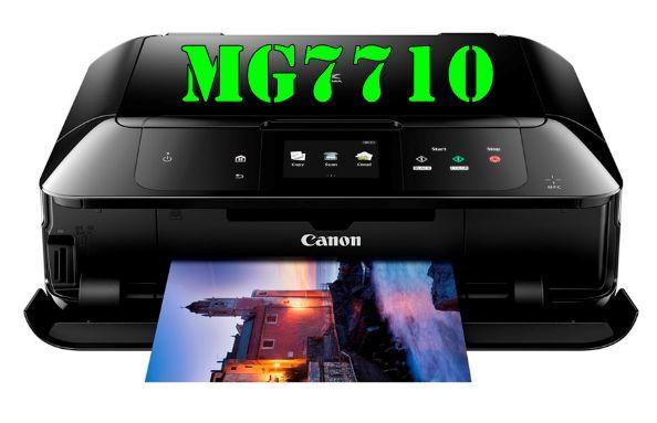 Canon PIXMA MG7710 Driver Download