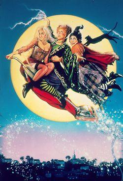 Hocus Pocus - the infamous Sanderson Sisters: