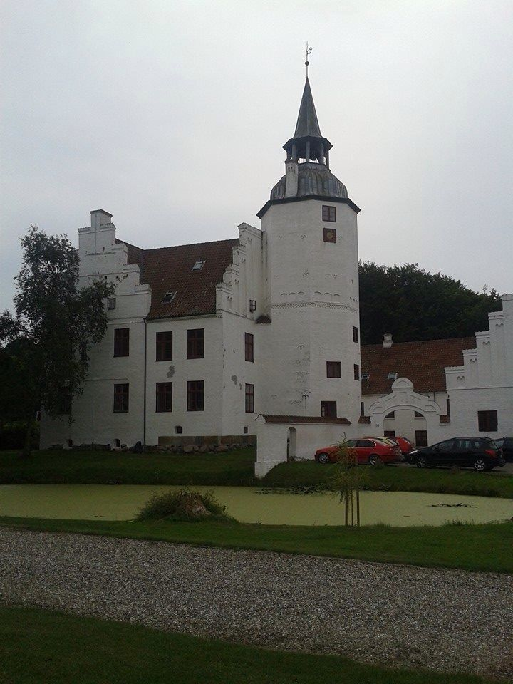 Beautiful castle in Denmark  Its a Bording School called Rydhave - its in holstebro