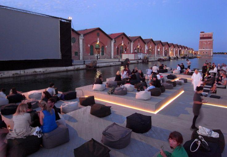 ole scheeren's floating cinema goes to venice