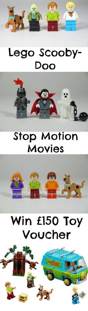 Amazing LEGO Scooby-Doo Stop Motion Videos - Win £150 Toy Voucher! - The Dad Network