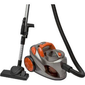 """Bomann BS 971 CB Canister / 2000 watts / no bag / anthracite and orange top offers for """"bagless vacuum cleaner"""