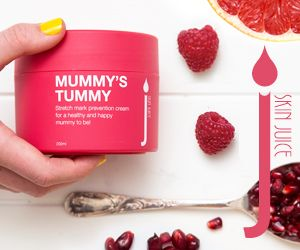 MUMMY'S TUMMY A HEALTHY ALTERNATIVE TO PROTECT AND NOURISH STRETCHING SKIN. Perfect for any mummy to be looking for a healthy and natural alternative for preventing stretch marks, a pregnancy safe juicy boost to protect and nourish stretching skin.