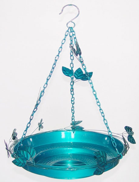 Decorative Hanging Bird Baths by Birds Out Back