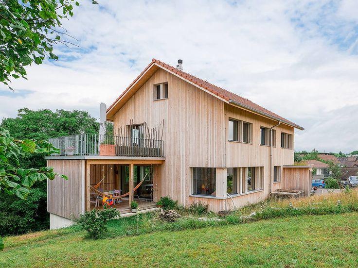 Holzhaus in Zürich