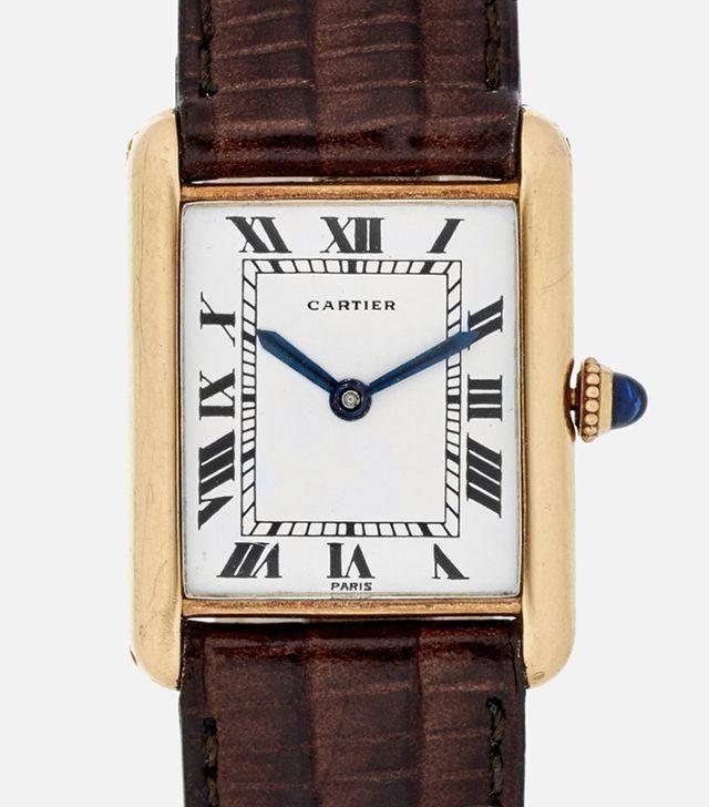 Cartier 1972 Tank With Audemars Piguet Movement Watch