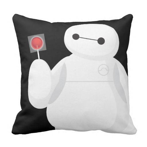 Big Hero 6 Lollipop Sign Pillow