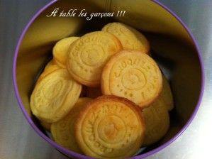 Biscuits croquants au lait concentré sucré