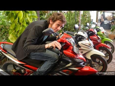 Valentino Rossi, Yamaha Factory Racing - Indonesia #motogp
