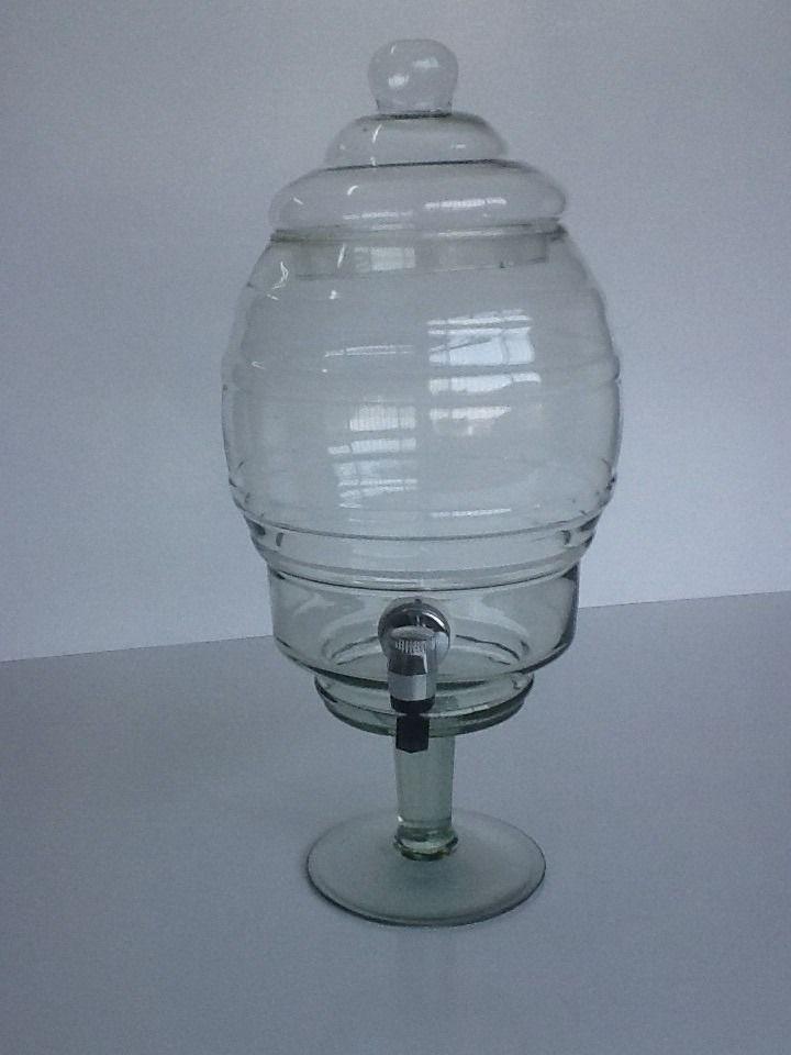 suqueira ou refresqueira de vidro 5 litros