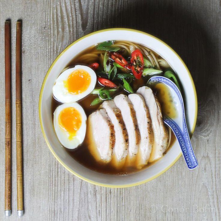 Chicken Ramen | One Man's Meat