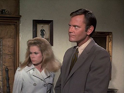 Bewitched,7x03-,The Salem Saga 1972, Elizabeth Montgomery, Dick Sargent